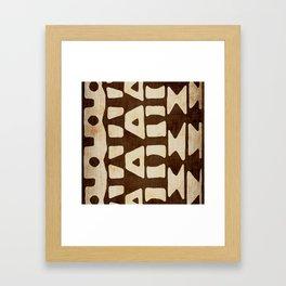 modern global Framed Art Print