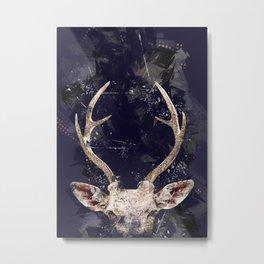 Animals Deer Metal Print