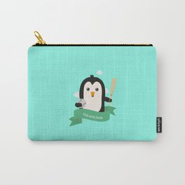 Baseball Penguin from PHILADELPHIA T-Shirt Carry-All Pouch