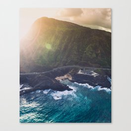 Makapuu Beach in Oahu, Hawaii Canvas Print