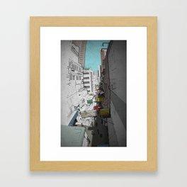 Hong Kong Streets Framed Art Print