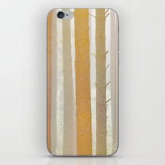 Golden Winter Forest 2 iPhone & iPod Skin