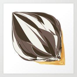 Chocolate Icecream Art Print