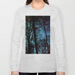 Cyan Foot Path Long Sleeve T-shirt