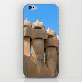Gaudi Series - Casa Milà No. 3 iPhone Skin