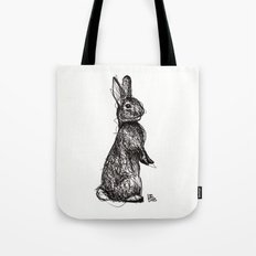 Woodland Creatures: Rabbit Tote Bag