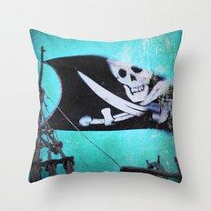 Arrgghhh Throw Pillow