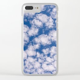 Cloud Pattern over Haines, Alaska by Mandy Ramsey Clear iPhone Case