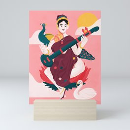 Saraswati Mini Art Print