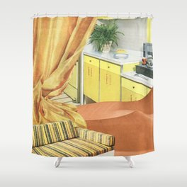 Desert Living Shower Curtain