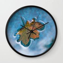 Enchanted Autumn Leaf #1 #foliage #art #society6 Wall Clock