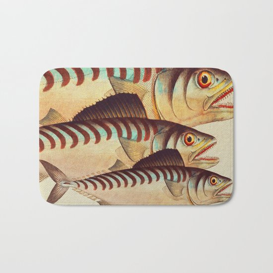 Fish Classic Designs 8 Bath Mat