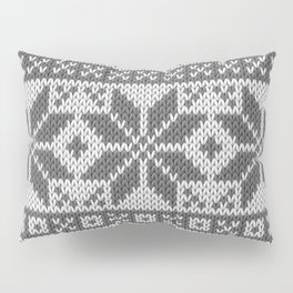 Winter knitted pattern4 Pillow Sham