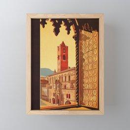 Old Ascoli Piceno Framed Mini Art Print