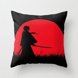 Samurai X Throw Pillow