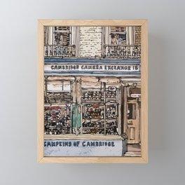 CAMPKINS Framed Mini Art Print