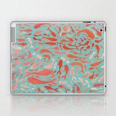 Koi - Coral & Turquoise Laptop & iPad Skin