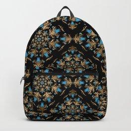 Turkish tulip - Ottoman tile pattern 14 Backpack