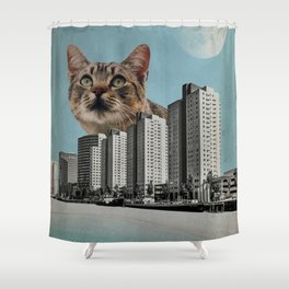 Cat City Shower Curtain