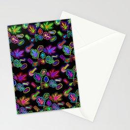 Cannabis Paraphernalia Stationery Cards