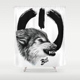Beast Mode Shower Curtain