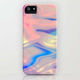 Holographic Dreams iPhone Case