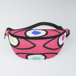 Eyeing You Up and Down Fanny Pack