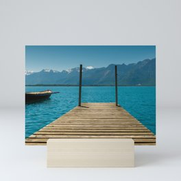 Lake Geneva Mini Art Print