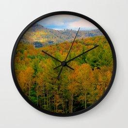 Autumnal Bliss Wall Clock