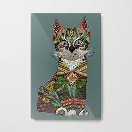 pixiebob kitten juniper Metal Print