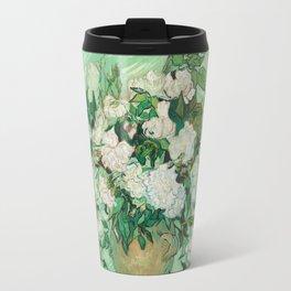 Vase with Roses Travel Mug