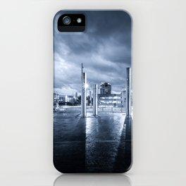 Swansea City Blue Mood iPhone Case