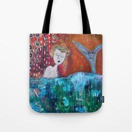 Mermaid's Day Off Tote Bag