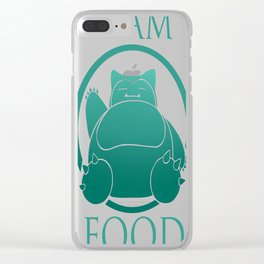 Team Food Clear iPhone Case
