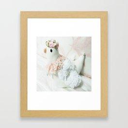Just a Chick Framed Art Print