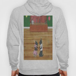 At the Hop-Scotch - Scotties - Scottish Terriers Hoody