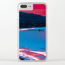 NEON VIBES Clear iPhone Case