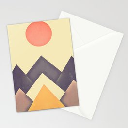 mountain-195 Stationery Cards