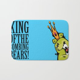 illsurge : King Of The Bombing Bears (2) Bath Mat