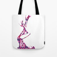heels Tote Bags featuring Heels by fashionistheonlycure