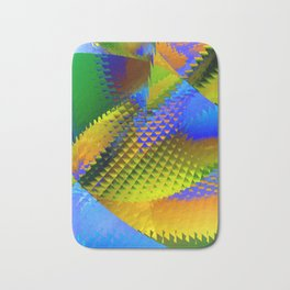 Daily Design 96 - Slowly Sinking Your Teeth Into A Pineapple Chunk Bath Mat
