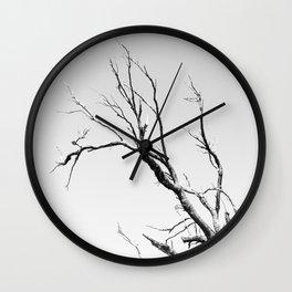 Beautiful Past Trees Wall Clock