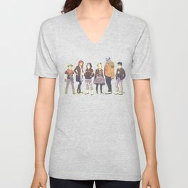 Teen Titans Streetwear Unisex V-Neck