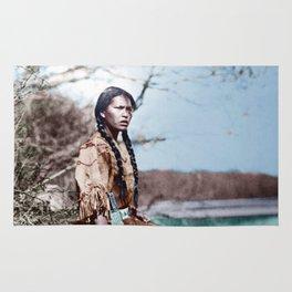 Native Girl Rug