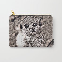 Rustic Style - Meerkat baby Carry-All Pouch