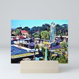 Rocky Point Amusement Park Photograph #1 – Warwick, Rhode Island Mini Art Print