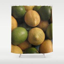 LemonLime Shower Curtain