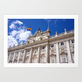 Palacio Real de Madrid Art Print