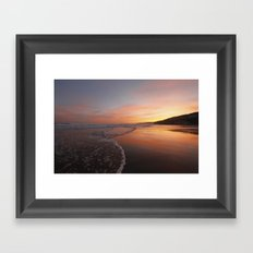 Last light at Dusk Framed Art Print