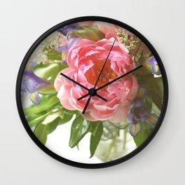 Spring in Bloom Wall Clock